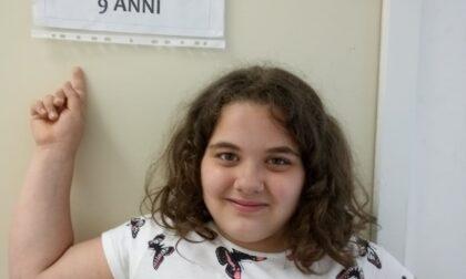A 9 anni è già una attrice del piccolo schermo