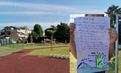Cassano d'Adda, apre il parco giochi che i bimbi avevano chiesto con una letterina al sindaco