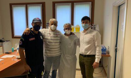 Vaccine day per gli over 60 a Trezzano Rosa