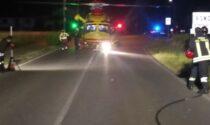 Spaventoso incidente con ribaltamento a Roncello, coinvolto un 20enne di Trezzano Rosa