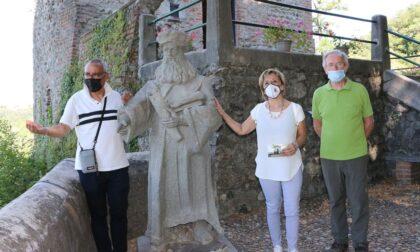 Pellegrinaggio al Santuario della Rocchetta per il sindaco di Trezzo sull'Adda