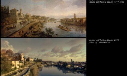 Dopo trecento anni lo skyline di Vaprio d'Adda è lo stesso del quadro dipinto da Van Wittel