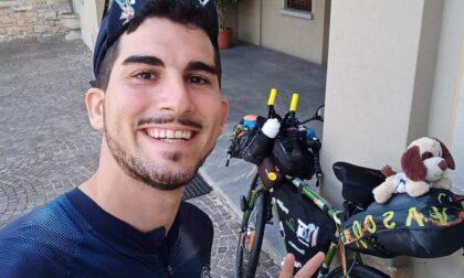 Il maestro in bici da Melzo a Capo Nord: dopo 20 giorni  e 1.500 km è arrivato in Danimarca