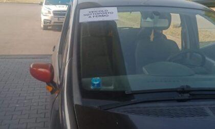 Controlli stradali della Polizia Locale, pizzicato a guidare senza patente