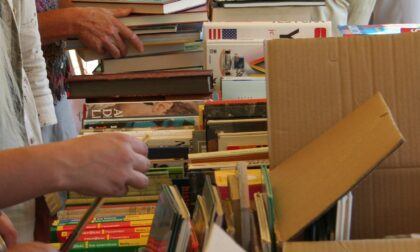Un mercatino del libro usato per le scuole di Cernusco sul Naviglio