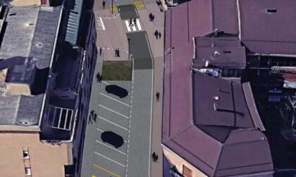 A Vimodrone lavori in corso per un centro storico a misura di pedoni