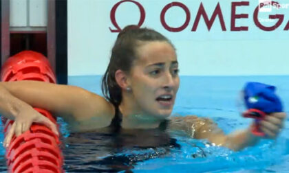 Strepitosa Giulia Terzi, è oro e record nei 100 metri stile libero