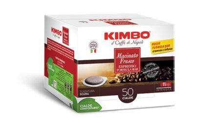 Dal gusto pieno e avvolgente, la nuova cialda Kimbo Macinato Fresco è disponibile in GDO dalla seconda metà di luglio