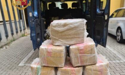 Nel box 450 chili di droga: due arresti a Vimercate