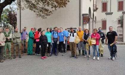 Trezzo è più pulita grazie ai volontari