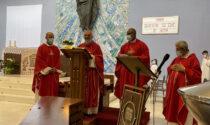 Don Roberto Laffranchi saluta la parrocchia di Maria Regina