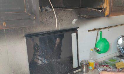 Incendio in un appartamento a Gorgonzola, Carabinieri e pompieri salvano una famiglia