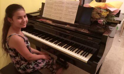 Patrizia è un prodigio del pianoforte a soli undici anni