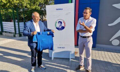 Inaugurato (di nuovo) lo stadio nella memoria di Gaetano Scirea