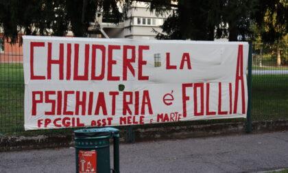 Chiusura Psichiatria all'ospedale di Melzo: lavoratori e pazienti in presidio