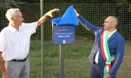 Cernusco sul Naviglio, pista di atletica intitolata a Marco Rotta