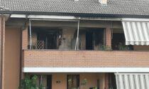 Incendio in una palazzina, due famiglie rimangono senza casa