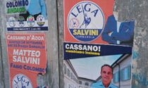 A Cassano d'Adda già strappati i manifesti di Matteo Salvini