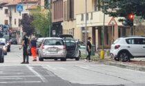 Tamponamento a catena a Cassina de' Pecchi