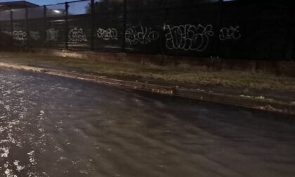 Forte temporale sulla Martesana, anche l'ospedale finisce sott'acqua