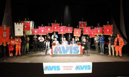 Avis di Cassano spegne 85 candeline e premia i suoi donatori