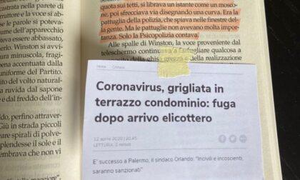 """""""Complottisti letterari"""" paragonano l'Italia del Covid a """"1984"""" di Orwell"""