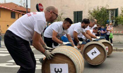 San Giuliano e Bucanieri Sub vincono le gare di ruzzolamento delle botti