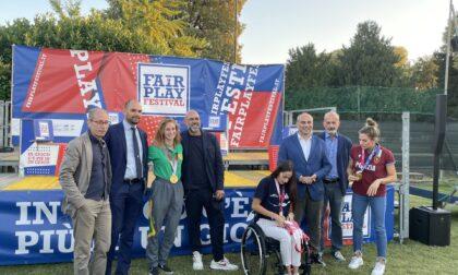 Le medagliate di Tokyo Terzi, Cesarini e Rondini danno il via al Fair play festival