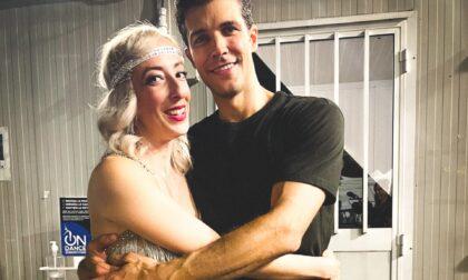Valeria danza con Roberto Bolle