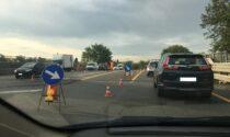 Giunti del ponte da sostituire: lavori in corso sul cavalcavia della Sp 13
