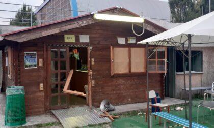 I vandali distruggono il bar della Pioltellese