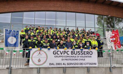 Una grande festa collettiva per i primi 20 anni della Protezione Civile di Bussero